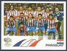 PANINI FIFA WORLD CUP-GERMANY 2006- #112-PARAGUAY TEAM PHOTO