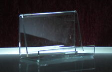 Open Ended Acrylic Business Card Holder Stand Display