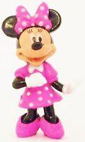 MINNIE MOUSE Disney POLKA DOT DRESS Mickey PVC TOY Cake Topper FIGURINE FIGURE!