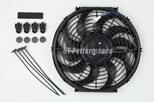 Ventilateur Extra Plat 320mm Universel 160W Ventilo Type Spal pour Radiateur