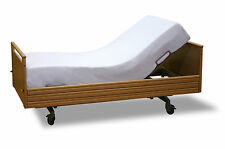 No-Iron white single bed fitted smart sheet sleep knit healthcare mattresses