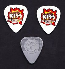 KISS Hottest Show On Earth 3 Signature Guitar Pick Set - 2010 Sonic Boom Tour