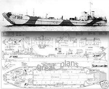 Plans for 1/35 tank landing craft(Lct) mk.4