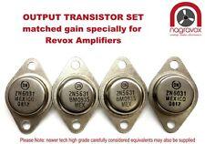 Revox B750 amplifier output transistors kit