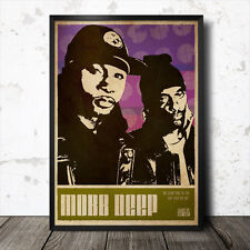 Mobb Deep Hip Hop Art Poster Rap Music Tupac Shakur Gangster NWA Nas Jay Z