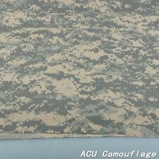 "ACU Digital Camouflage Cotton Blend Army Military 60""W Fabric Cloth for uniform"