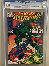 AMAZING SPIDER-MAN #78/ 9.0 CGC CR/OFF WHITE PAGES ORIGIN/1ST APP. OF PROWLER