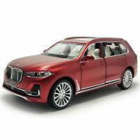 1:32 BMW X7 2019 SUV Die Cast Modellauto Auto Spielzeug Sammlung Rot Ton & Licht
