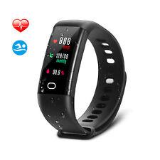 Fitness Tracker Pulsuhr Blutdruck Sports Smart Armband Uhr Zähler IP68 SAVFY