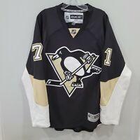 Reebok Premier NHL Pittsburgh Penguins Evgeni Malkin 71 Hockey Jersey Mens M
