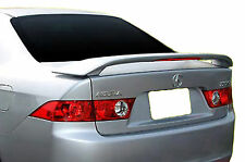PAINTED REAR WING SPOILER FOR AN ACURA TSX FACTORY STYLE 2004-2008