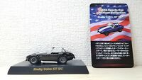 Kyosho 1/64 SHELBY COBRA 427 S/C BLACK diecast car model