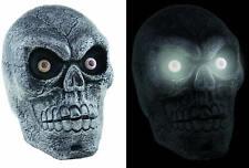 Totenkopf Schädel mit Licht Sound Karneval Halloween Deko Accessoires 30 cm