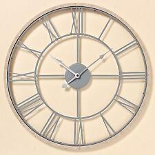 Runde Wanduhren aus Eisen mit 12-Stunden-Anzeigeformat