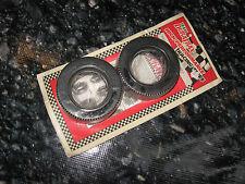 "Vintage RC Tires Duratrax Rare HT Rubber 1.9"" Front Trac Slick (2) 5031"
