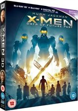 X-Men Days Of Future Past 2D + 3D Blu-Ray + UV *NEW & SEALED - FAST UK DISPATCH*