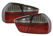 FEUX ARRIERES LED NOIR ROUGE BMW SERIE 3 E90 BERLINE 2004-2008 318d 320d 325d
