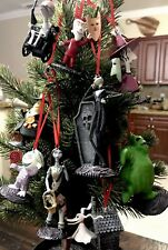 Disney Christmas Deluxe Ornament 9pc Set The Nightmare Before Christmas PVC