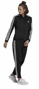 adidas Performance Damen Fitness-Trainingsanzug 3S ESSENTIALS TRACKSUIT schwarz
