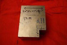"""One Titanium 6AL-4V 5.6 x 4.27 x 3.1"""", 11.4 Lbs bar, plate, sheet showing grain"""