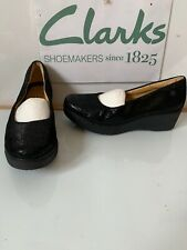 Clarks Unstructured Leather Shoes Size UK 7 EU 41