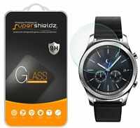 2x Supershieldz® Tempered Glass Screen Protector For Samsung Gear S3 Classic