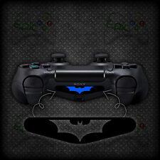 2x Barra de luz de controlador Playstation 4 PS4 Batman Vinilo Calcomanía Adhesivo Mod De La Piel