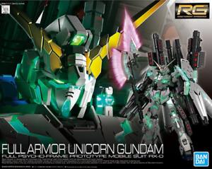 BANDAI RG 1/144 Gundam Full Armor Unicorn Gundam UC RX-0 Model Kit #30 AU STOCK