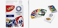 Mattel LIMITED EDITION Tokyo 2020 Olympics Official Licensed Uno Card Game RARE