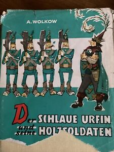 Der Schlaue Urfin und seine Holzsoldaten,  Progress Moskau, DDR 1974 A. WOLKOW