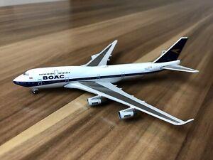 Herpa Wings BRITISH AIRWAYS BOENG 747 100th ANNIVERSARY