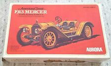 VINTAGE 1/16 SCALE MODEL CAR MERCER J RACEABOUT 1913 AURORA TYPE 35J