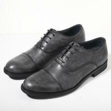 Mens Low Top Real Leather Business Leisure Shoes Round Toe Oxfords Work Casual L