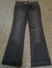 NEW WITH TAGS WOMEN'S BLUE JEANS SIZE 8 MODERN FLARE A.N.A