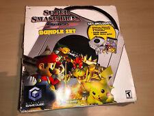 Nintendo GameCube Super Smash Bros. Melee Bundle Set Platinum Console NTSC New