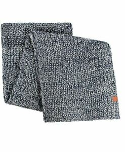 Bickley + Mitchell Men's Knit Scarf Navy/White