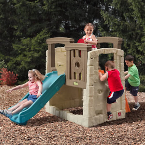 Step2 Naturally Playful Woodland Climber II Outdoor Activity Center with Slide