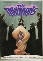 Inhumans, The Marvel Graphic Novel 1988! 1ST PRINT $7.95 RAREST of INHUMANS APP!