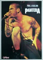 PANTERA / PHIL ANSELMO poster 22x16in (57x40cm) cowboys from hell
