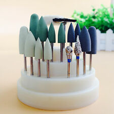 Cura dei denti 17P Silicone Rubber Rotary Tungsten steel Polishing Burs 2.35mm T