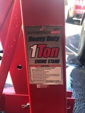2000 lb Engine Stand | Folding Motor Hoist Dolly Mover Auto Repair Rebuild Jack