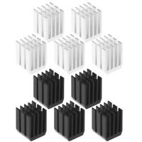 5Pcs/Lot 9x9x12mm Aluminum Cooling Heat Sink Chip RAM Radiator Heatsink Coolers