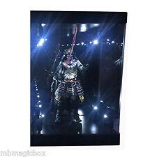"Acrylic Display Case Light Box for 7"" 18cm STAR WARS Samurai Darth Vader figure"