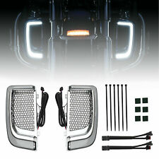 Tracer LED Lower Fairing Lower Grills Lights For Electra FLH/T Road Glide TY