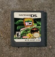 Nintendo DS Ben 10 Protector of Earth (Works, tested) (game only)