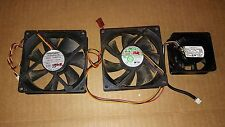 7EE31 ASSORTED CASE FANS, 12VDC: 100MA / 60MM, 160MA / 90MM, 320MA / 90MM, GC