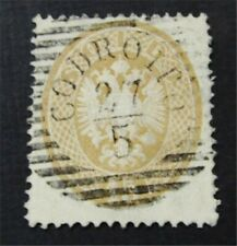 nystamps Austrian Offices Abroad Lombardy Venetia Stamp # 19 Used $340