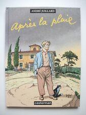 EO Première éd. + ex-libris sérigraphié 320ex S&N APRES LA PLUIE André JUILLARD