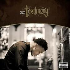 August Alsina - Testimony Audio CD NEW