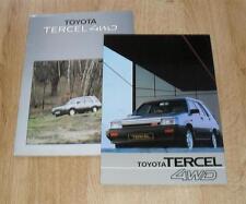Toyota Tercel 4WD Brochure Circa 1983